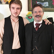 Javi Sánchez-Blanco with Theodore Roosevelt