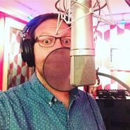 Mike Betette in the Recording Studio