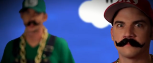 Mario Brothers Cameo Nice Peter vs EpicLLOYD