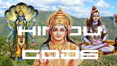 Hindu Gods Title Card