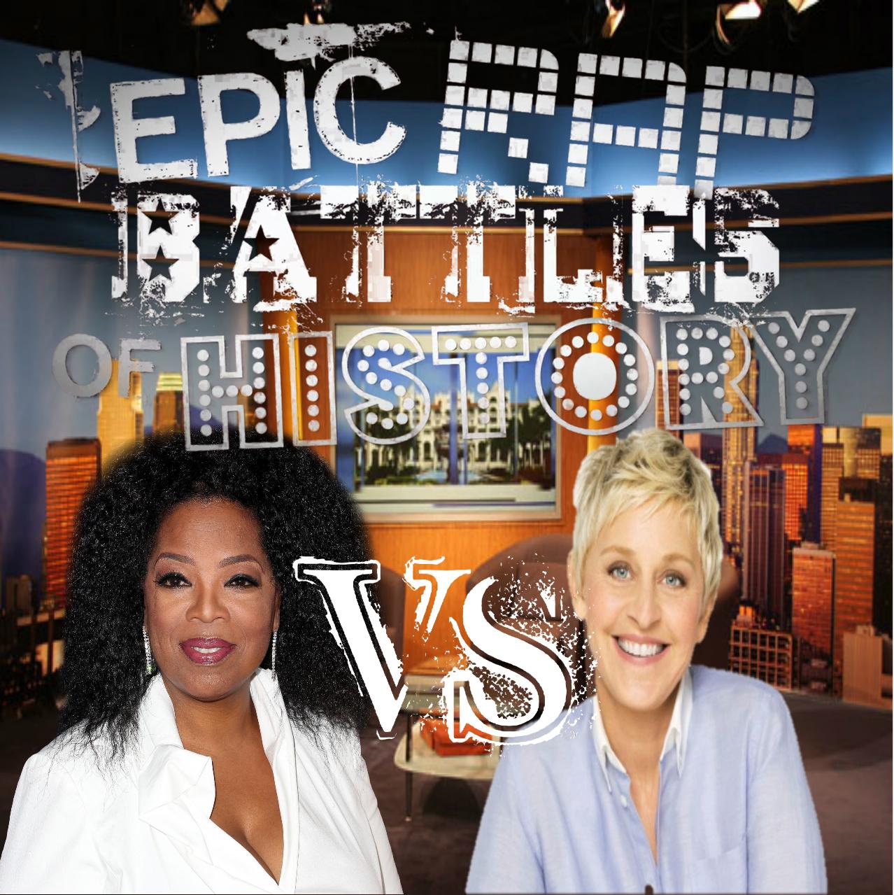Image - Oprah Winfrey vs Ellen DeGeneres cover.jpg   Epic ...
