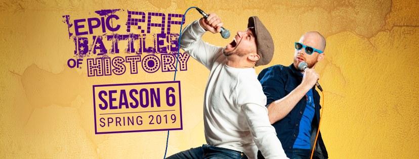 Season 6   Epic Rap Battles of History Wiki   FANDOM powered
