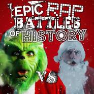 The Grinch vs Santa Claus