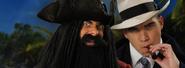 Blackbeard vs Al Capone Banner