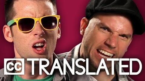 TRANSLATED Nice Peter vs Epic Lloyd. Epic Rap Battles of History
