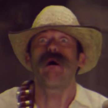 Mustached cowboy