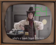 Bob Ross vs Pablo Picasso Fourth Doctor Cameo
