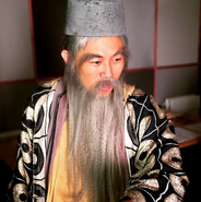 MC Jin as Confucius Behind The Scenes 2