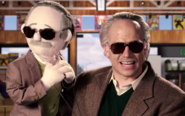 Stan Lee puppet