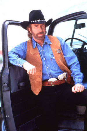 Chuck Norris Texas Ranger Based On