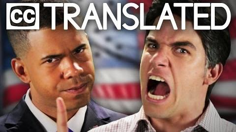 TRANSLATED Barack Obama vs Mitt Romney. Epic Rap Battles of History