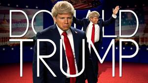 Donald Trump Title Card 2