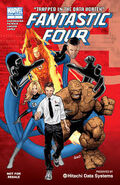 A fantastic four 2 comic cover
