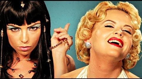 Cleopatra VS Marilyn Monroe. Epic Rap Battles of History Season 2