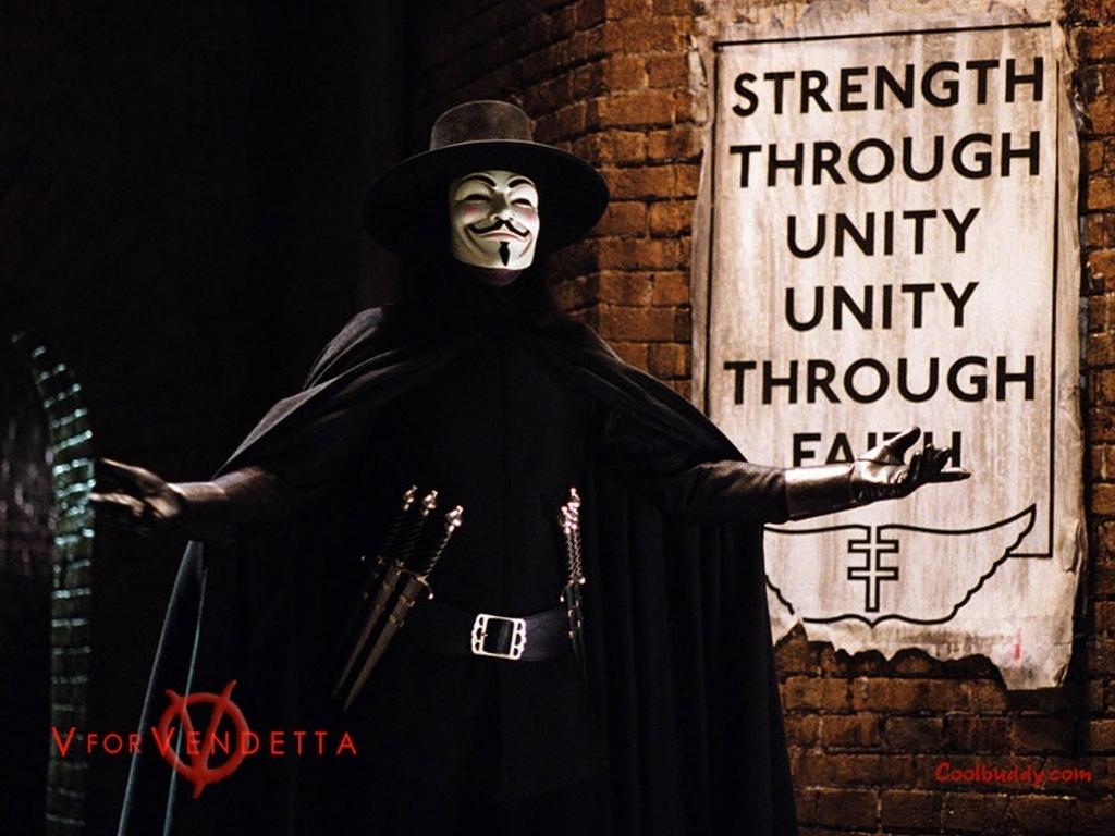 V For Vendetta Wallpaper 5083134 1024 768
