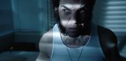 Tiny Freddy Krueger Sneaking Behind Wolverine