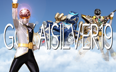 GokaiSilver19 Title Card