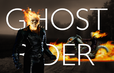 Ghost Rider Title Card