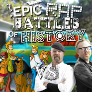 Mystery Inc vs Mythbusters cw request cover