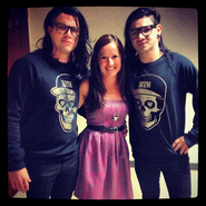 Skrillex, EpicLLOYD and Josie