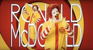 Ronald McDonald Title Card
