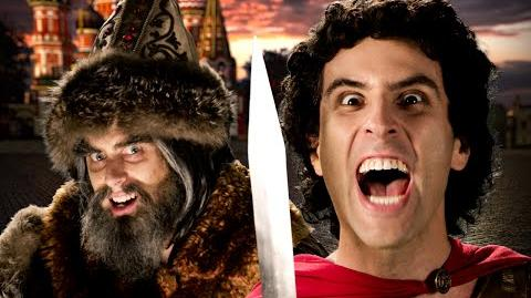 Alexander the Great vs Ivan the Terrible | Epic Rap Battles of