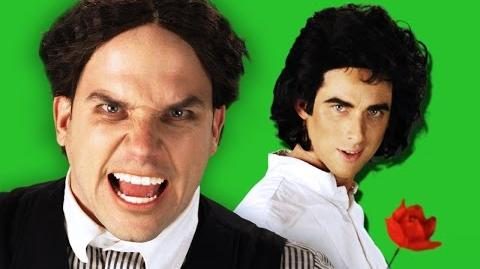 David Copperfield vs Harry Houdini. Epic Rap Battles of History Behind the Scenes.