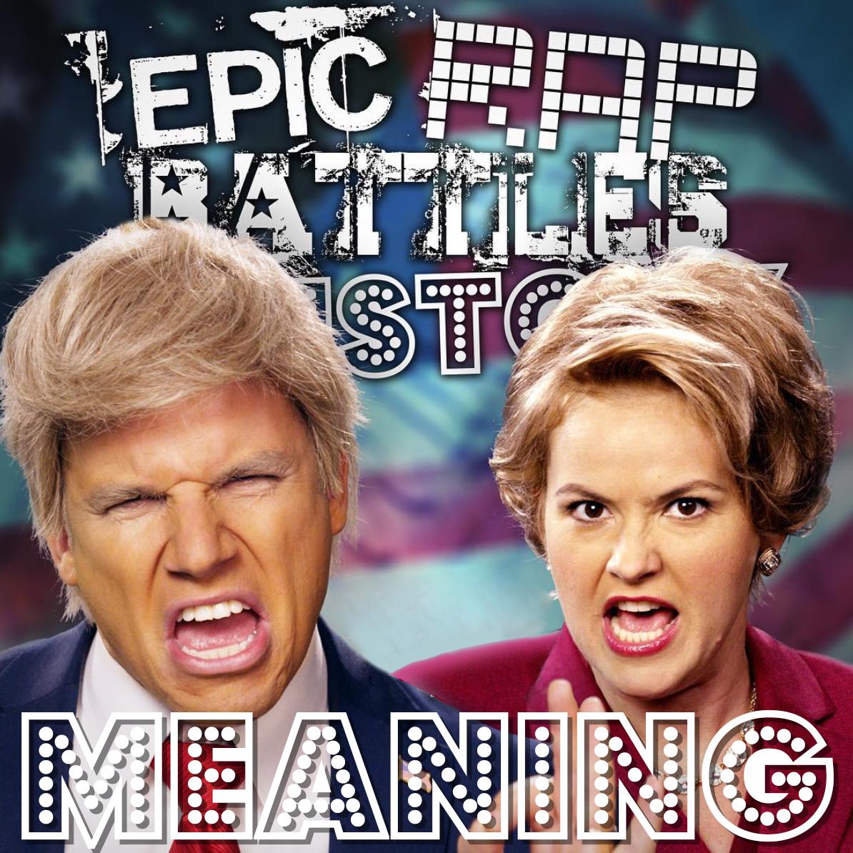 donald trump vs hillary clinton rap meanings epic rap battles of