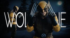 Wolverine Title Card