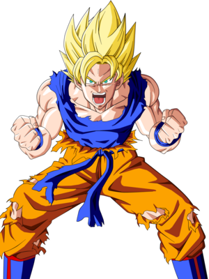 Super Saiyan Goku Based On