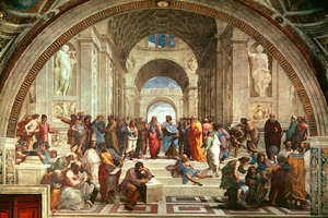 The School of Athens Based On