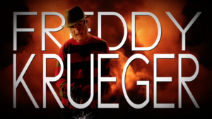 Freddy Krueger Title Card