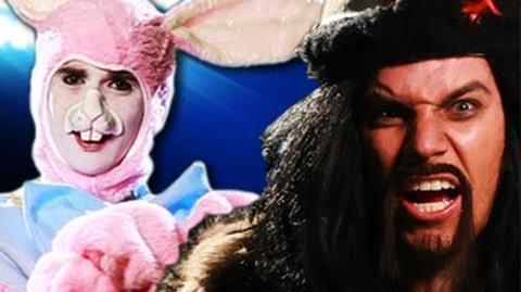 Genghis Khan vs Easter Bunny. Epic Rap Battles of History