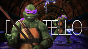 Donatello (Turtle) Title Card