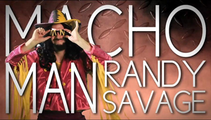 Macho Man Randy Savage Title Card