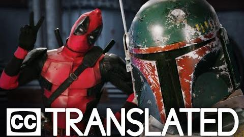 TRANSLATED BOBA FETT vs DEADPOOL. Epic Rap Battles of History