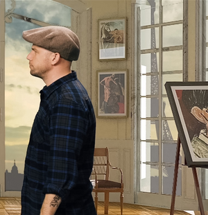 EpicLLOYD in Pablo Picasso's Studio