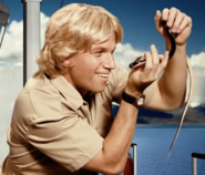 Steve Irwin With Snake