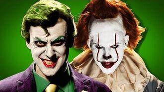 The Joker vs Pennywise. ERB Behind The Scenes