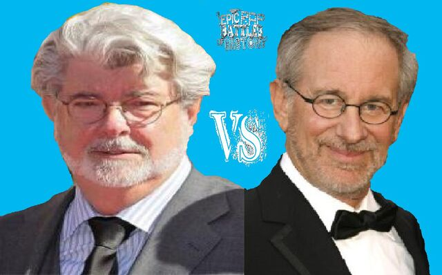 File:George Lucas vs Steven Spielberg.jpeg