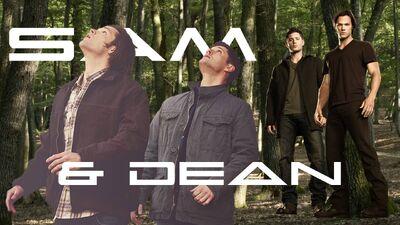 Sam & Dean Title Card AlanRB