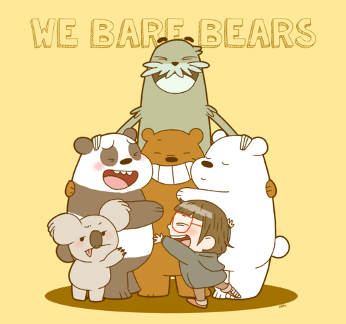 We bare bears by oysteice-d93105h