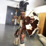 DeStorm as Shaka Zulu