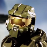 Master Chief In Battle