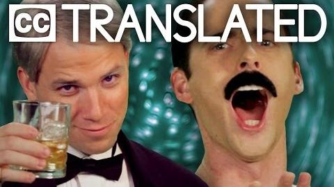 TRANSLATED Frank Sinatra vs Freddie Mercury. Epic Rap Battles of History