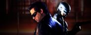 Terminator vs Robocop Banner