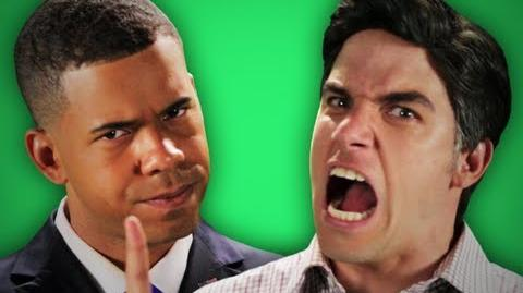 Epic Rap Battles Of History - Behind the Scenes - Barack Obama vs Mitt Romney