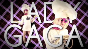 Lady Gaga TItle Card