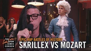 Mozart vs Skrillex The Late Late Show with James Corden
