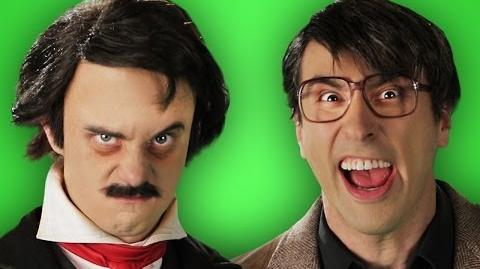 Stephen King vs Edgar Allen Poe. Behind the Scenes of Epic Rap Battles of History.